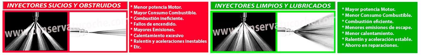 beneficios limpia inyectores diesel