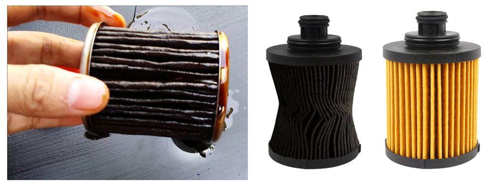 Diferencia entre filtro aire limpio y sucio
