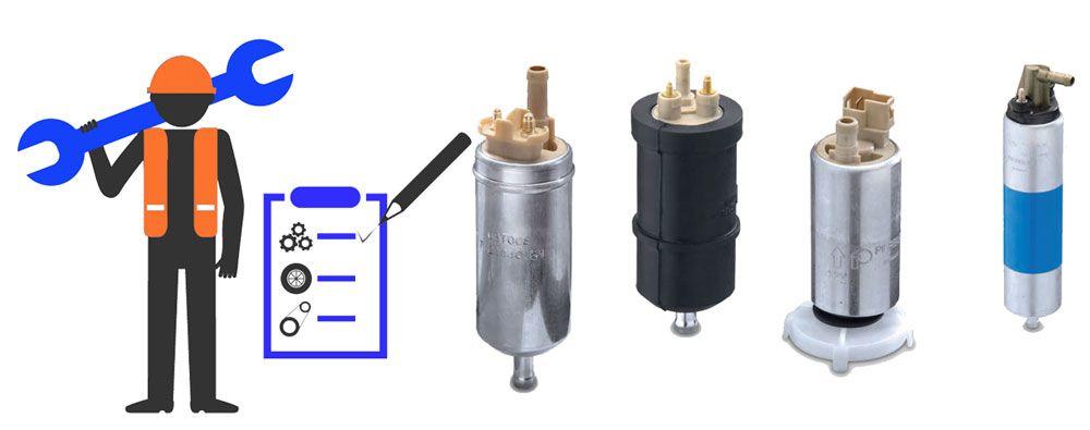 mantenimiento bomba gasolina y combustible